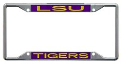 Stockdale Louisiana State University License Plate Frame
