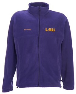 Columbia Sportswear Men's LSU Full-Zip Flanker Jacket