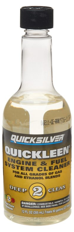 Quicksilver 12 oz Quickleen Engine and Fuel System Cleaner