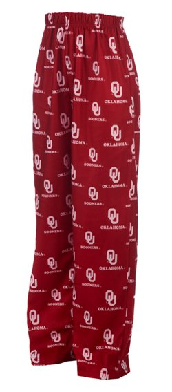 Genuine Stuff Boys' University of Oklahoma Jam Pant