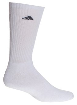 adidas Men's climalite Crew Socks 6 Pack
