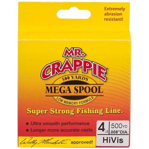 Mr. Crappie® MEGA Filler 4 lb. - 500 yards Monofilament Fishing Line