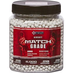 6mm Heavy White BBs 5,000-Count