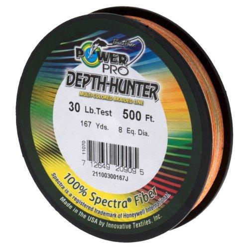 PowerPro Depth Hunter 30 lb. - 500' Braided Fishing Line