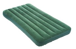 INTEX Downy Twin-Size Airbed with Built-In Foot Pump