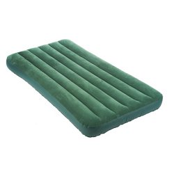Downy Twin-Size Airbed with Built-In Foot Pump
