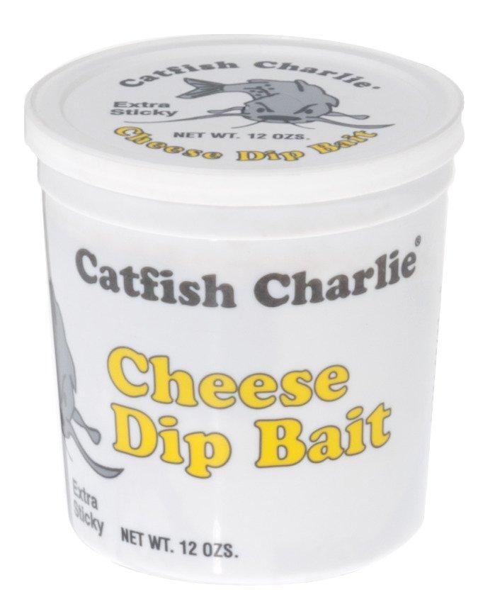 Catfish Charlie 12 oz. Cheese-Flavored Dip Bait