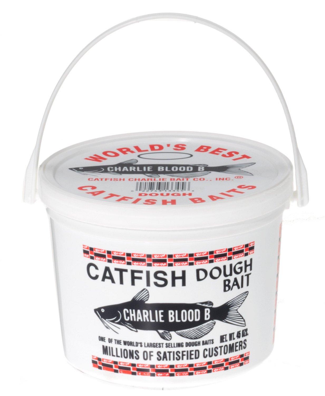 Catfish Charlie 45 oz. Type B Blood-Flavored Catfish Dough Bait