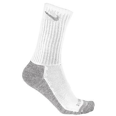 Nike Adults Dri Fit Half Cushion Crew Socks 3 Pack
