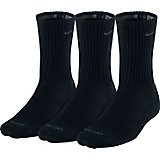 Nike Men's Dri-FIT Half Cushion Crew Socks 3 Pack