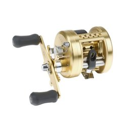 Calcutta Round Baitcast Reel Right-handed