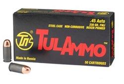 TulAmmo .45 ACP 230-Grain FMJ Centerfire Ammunition