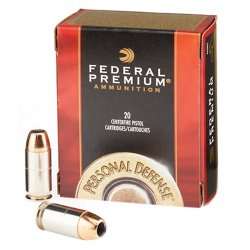 Federal Premium® Personal Defense® Hydra-Shok® JHP .45 Auto 230-Grain Handgun Ammunition