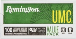 Remington UMC 9mm Luger 115-Grain Centerfire Ammunition