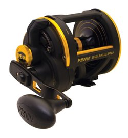 PENN Squall Lever Drag 50 Conventional Reel Right-handed