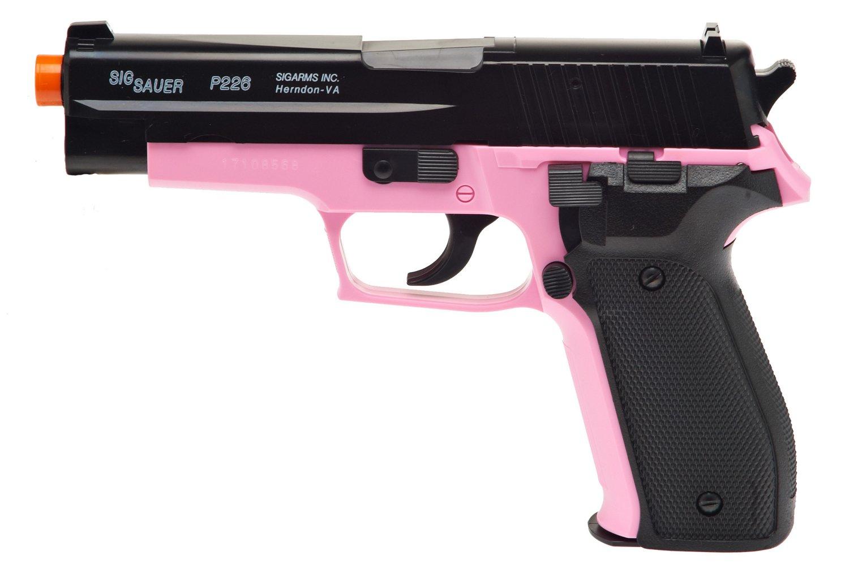 Soft Air USA SIG SAUER P226 Pink Air Pistol