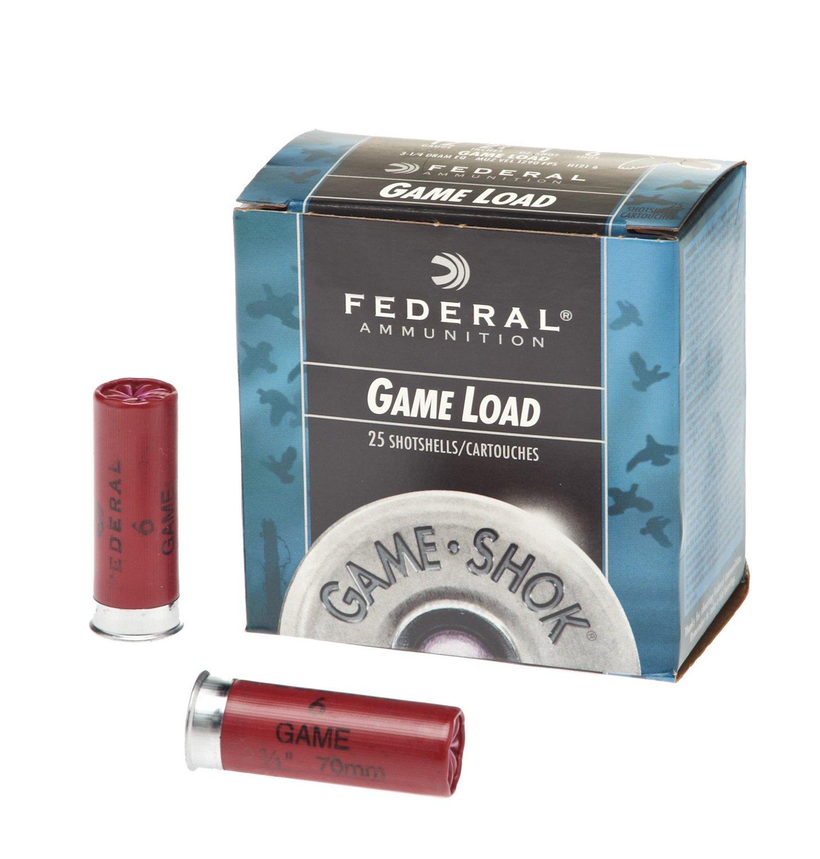Federal Premium® Ammunition Game-Shok® Game Load 12 Gauge 6 Shotshells