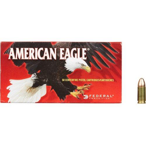 American Eagle® 9mm Luger 124-Grain Centerfire Handgun Ammunition