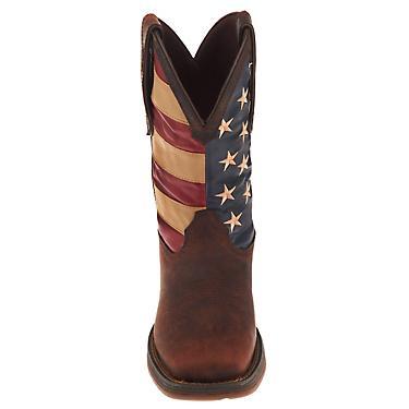 3f9b97b1f8f Rocky Men's Rebel American Flag Western Boots