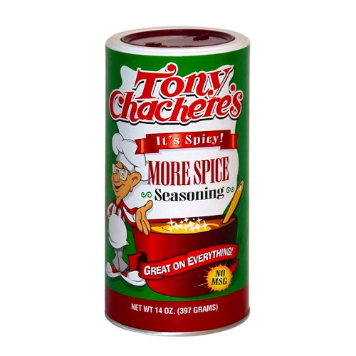 Tony Chachere's 14 oz. More Spice Seasoning