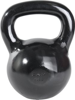 CAP Barbell 40 lb. Cast Iron Kettlebell