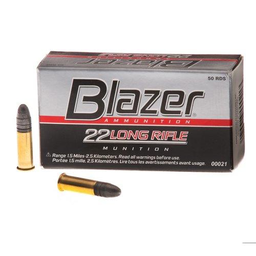 Blazer® .22 LR 40-Grain High Velocity Rimfire Rifle Ammunition