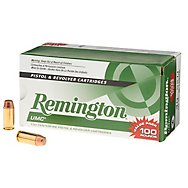 Centerfire Pistol Ammunition