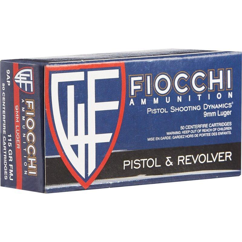 Fiocchi Pistol Series Dynamics 9mm 115-Grain Centerfire Ammunition – Pistol Shells at Academy Sports