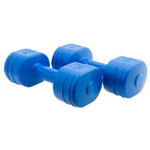 Tone Fitness Women's 5 lb. Cement Dumbbells