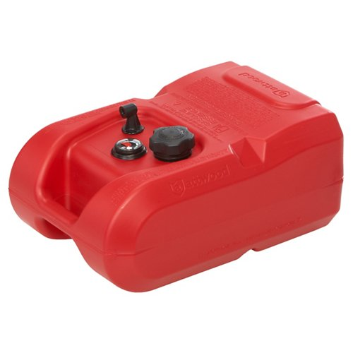 Attwood® 6-Gallon Portable Gas Tank with Gauge