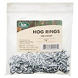 "LEM 3/8"" Hog Rings 100-Pack"