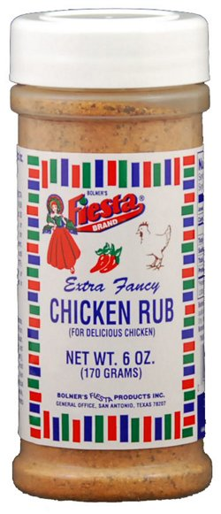 Bolner Fiesta 6 oz. Chicken Rub