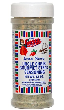 Bolner Fiesta 5.5 oz. Gourmet Steak Seasoning