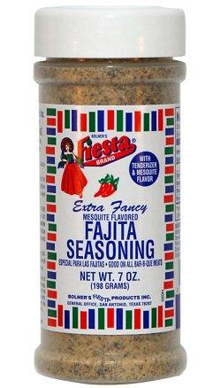 Bolner Fiesta 7 oz. Mesquite Fajita Seasoning