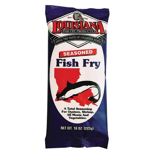 Louisiana Fish Fry Products Seasoned Fish Fry