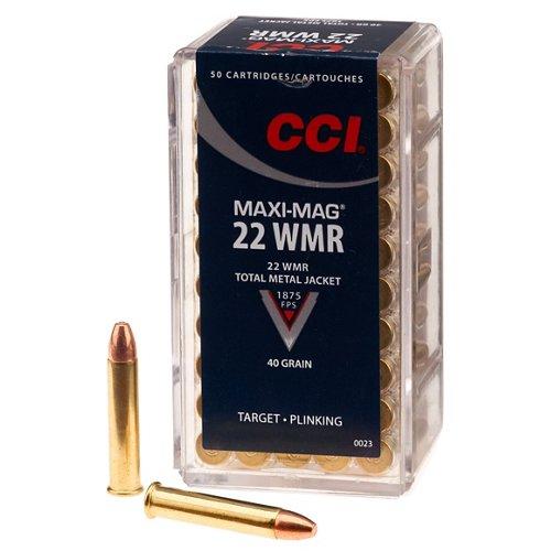CCI® .22 WMR Maxi Mag 40-Grain Rimfire Ammunition