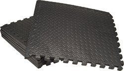 BCG Diamond Plate Fitness Flooring System 6-Pack