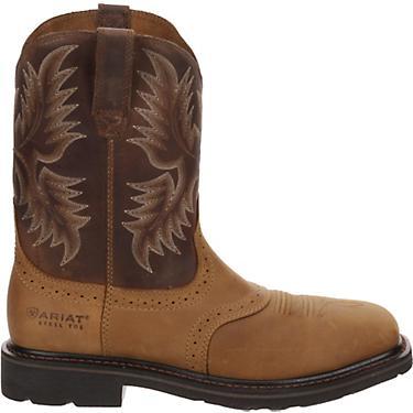9291f0e41d0 Ariat Men's Sierra EH Steel Toe Western Wellington Work Boots
