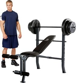 Marcy Weight Bench Set