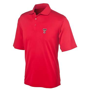 Antigua Men's Texas Tech University Piqué Xtra-Lite Polo
