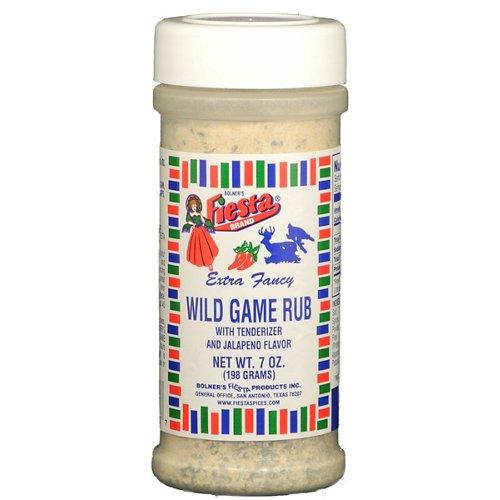 Bolner Fiesta 7 oz. Wild Game Rub