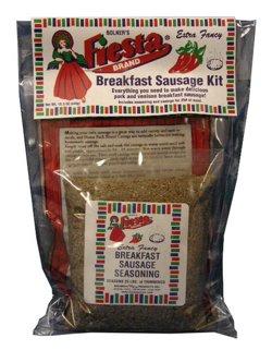 Bolner Fiesta Brand Breakfast Sausage Kit