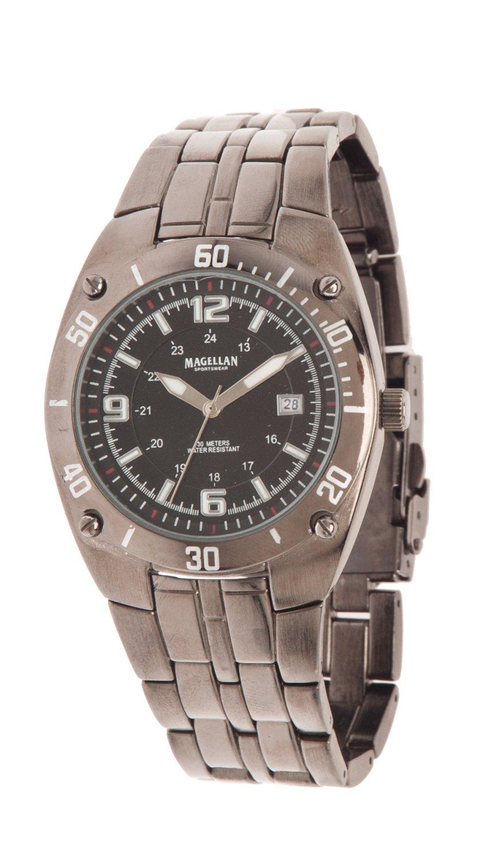 Magellan Outdoors™ Men's Quartz Analog Watch with Date