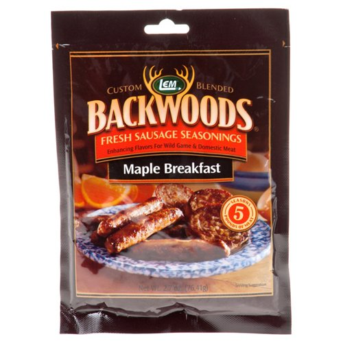 LEM Backwoods Fresh Maple Breakfast Sausage Seasoning