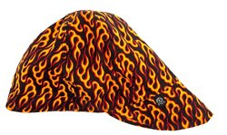 ZANHeadgear Adults' Flame Pattern Welder's Cap