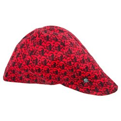 Adults' Skull Pattern Welder's Cap