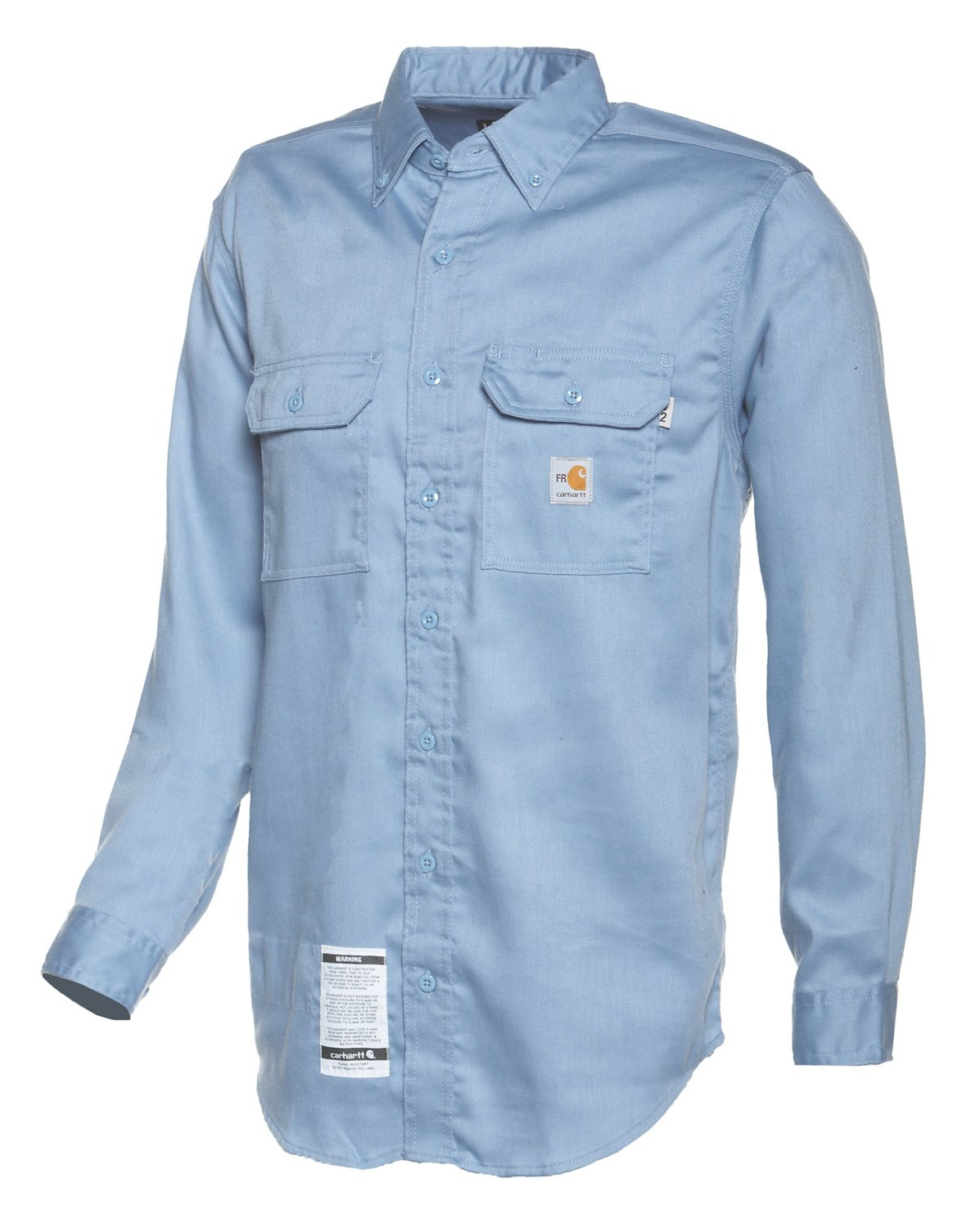 01ef83a36ad4 Carhartt Men s Flame-Resistant Work-Dry Lightweight Twill Shirt ...