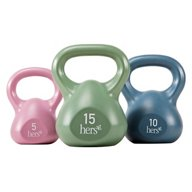 Hers 3-Piece Kettlebell Set