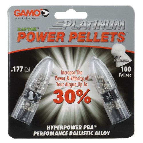 Gamo PBA Platinum .177 4.7-Grain Airgun Pellets