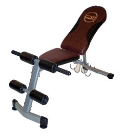 CAP Barbell Bench with Dumbbell Holder